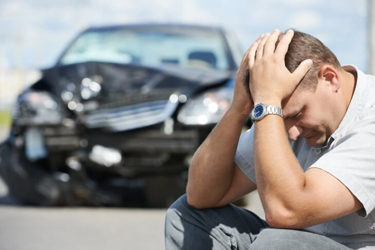 Headaches following the accident